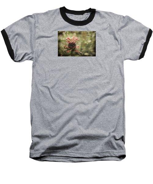 Desert Longing Baseball T-Shirt by Jean OKeeffe Macro Abundance Art