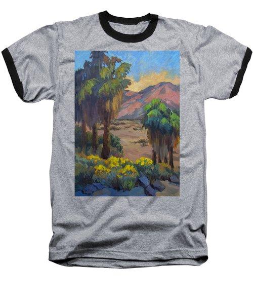 Desert Marigolds At Andreas Canyon Baseball T-Shirt