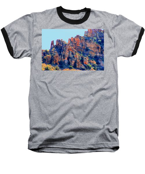 Desert Paint Baseball T-Shirt