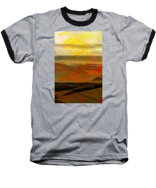 Desert Paradise Baseball T-Shirt by Paula Ayers