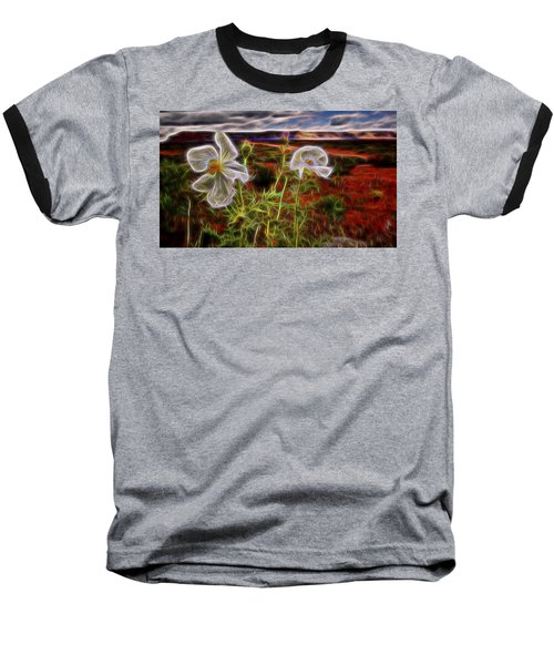 Desert Primrose 2 Baseball T-Shirt