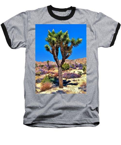Desert Spring Baseball T-Shirt by Angela J Wright