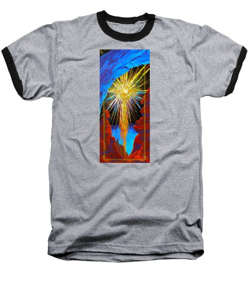 Desert Star  Baseball T-Shirt by Alan Johnson