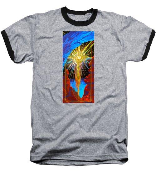 Desert Star  Baseball T-Shirt