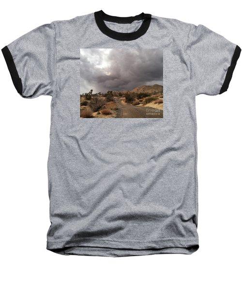 Desert Storm Come'n Baseball T-Shirt by Angela J Wright