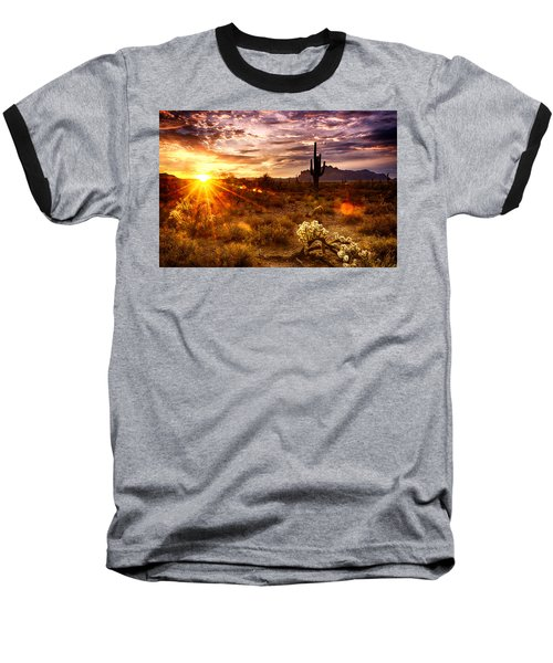 Desert Sunshine  Baseball T-Shirt