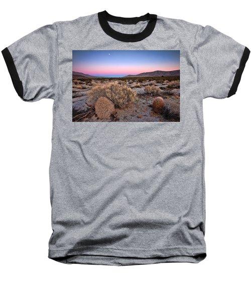 Desert Twilight Baseball T-Shirt