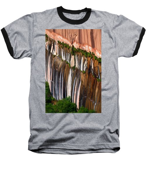 Desert Varnish Baseball T-Shirt by David Beebe