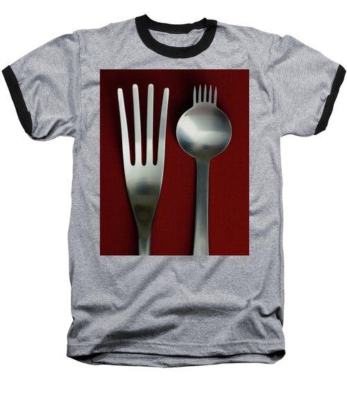 Designer Cutlery Baseball T-Shirt