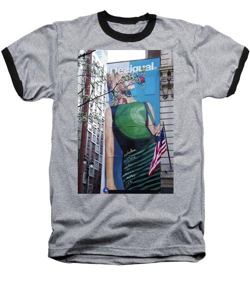 Desigual Baseball T-Shirt by Alice Gipson