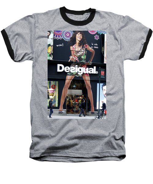 Desigual Storefront Baseball T-Shirt
