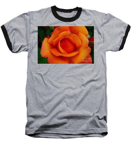 Baseball T-Shirt featuring the photograph Detail In Orange by John S