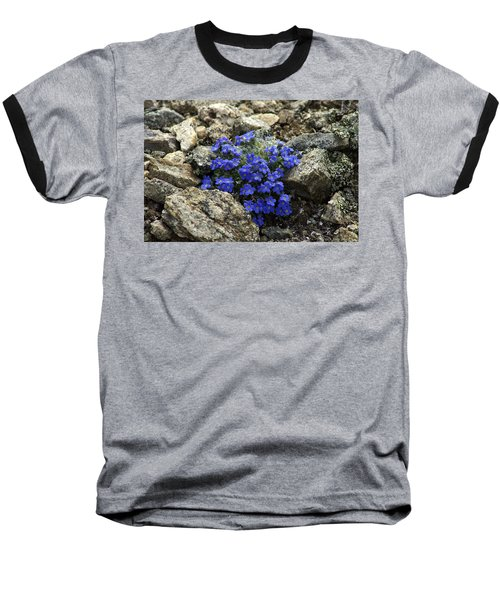 Baseball T-Shirt featuring the photograph Determination by Jeremy Rhoades