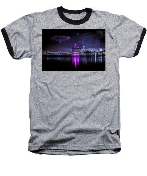 Baseball T-Shirt featuring the photograph Detroit Worlds by Nicholas  Grunas