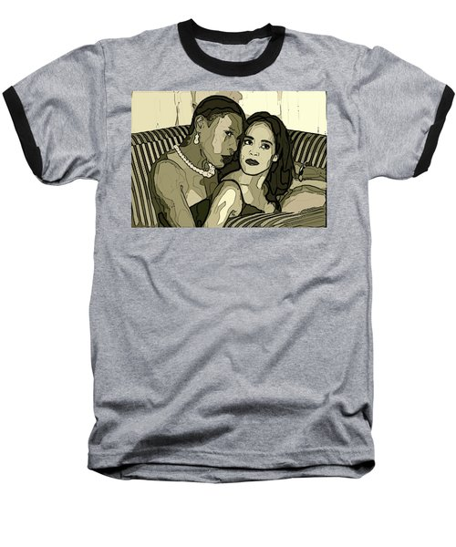 Baseball T-Shirt featuring the photograph Deux by Alice Gipson
