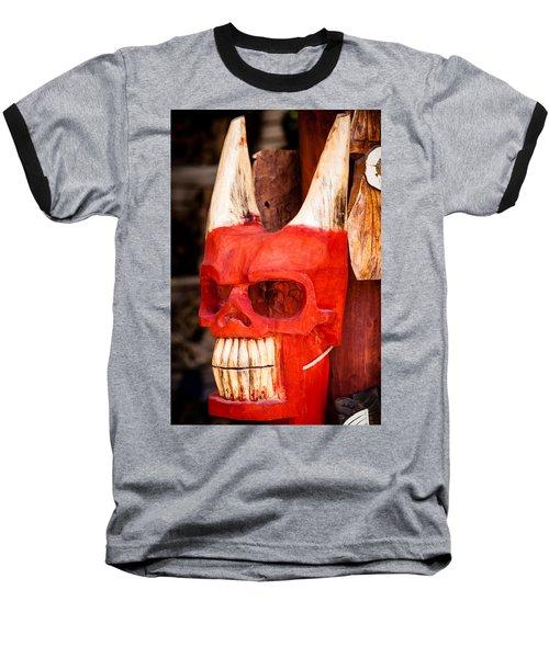 Devil In The Details Baseball T-Shirt