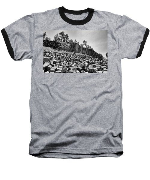 Devils Postpile National Monument Baseball T-Shirt