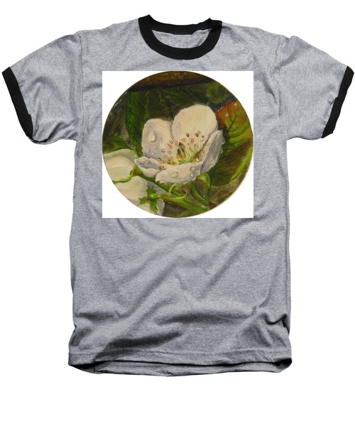 Dew Of Pear's Blooms Baseball T-Shirt