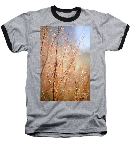 Dewdrop Morning Baseball T-Shirt