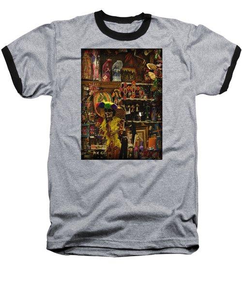 Dia De Muertos Shop Baseball T-Shirt