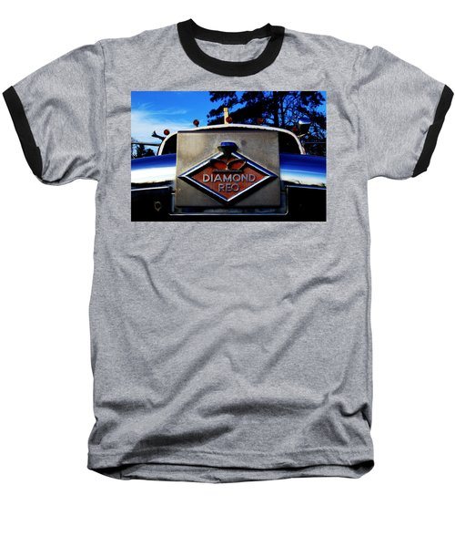 Diamond Reo Hood Ornament Baseball T-Shirt