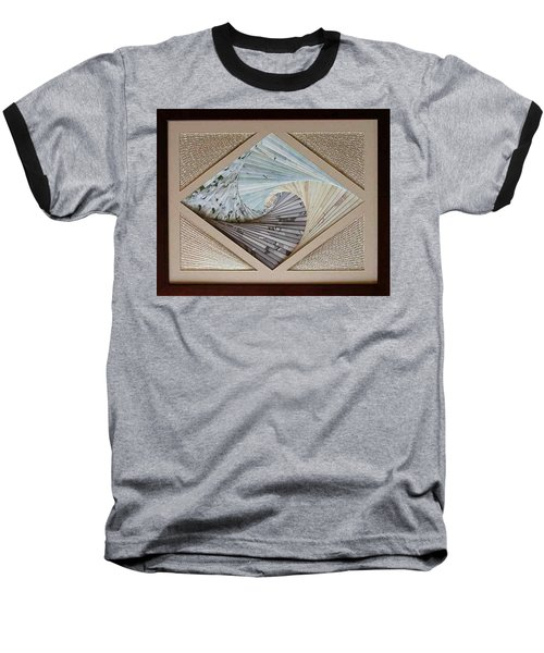 Baseball T-Shirt featuring the mixed media Diamonds Are Forever by Ron Davidson