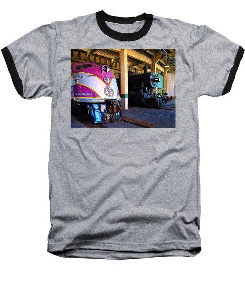 Diesel And Steam Baseball T-Shirt