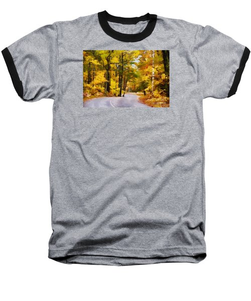 Baseball T-Shirt featuring the photograph Fall Colors by David Perry Lawrence
