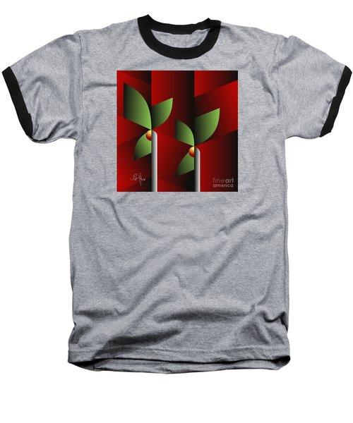Digital Garden Baseball T-Shirt
