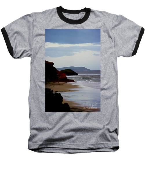 Digital Painting Of Smiths Beach Baseball T-Shirt