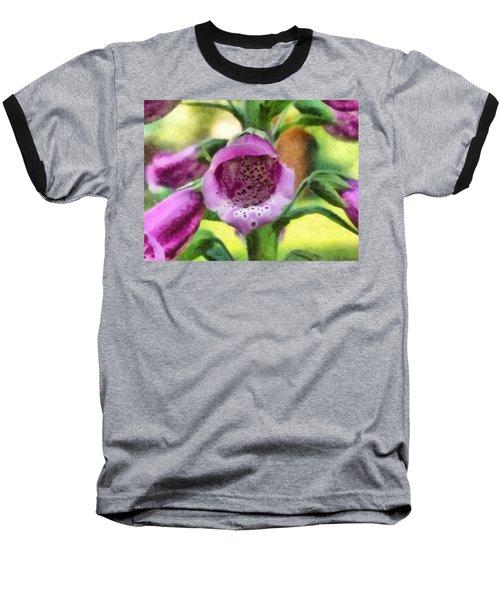 Digitalis Purpurea Baseball T-Shirt