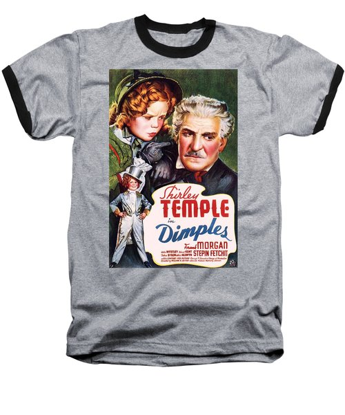 Dimples Baseball T-Shirt by Movie Poster Prints