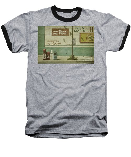 Diner Rules Baseball T-Shirt