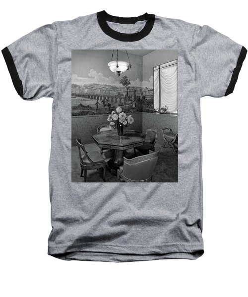 Dining Room In Helena Rubinstein's Home Baseball T-Shirt
