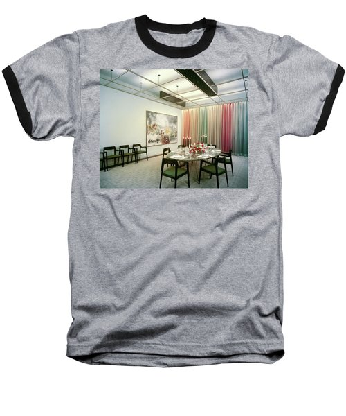 Dining Room In Mr. And Mrs. Williams A.m Baseball T-Shirt
