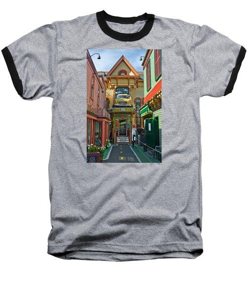 Dinks Taxi In Bar Harbor Baseball T-Shirt