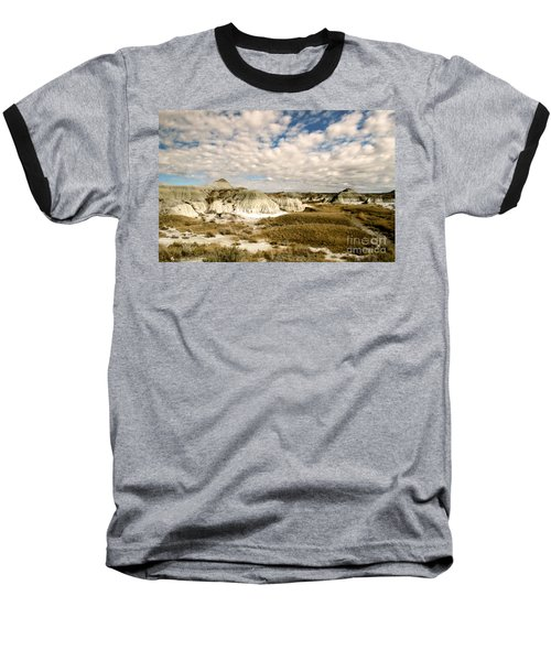Dinosaur Badlands Baseball T-Shirt