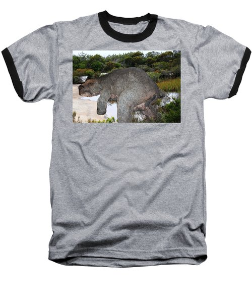 Baseball T-Shirt featuring the photograph Diprotodon by Miroslava Jurcik