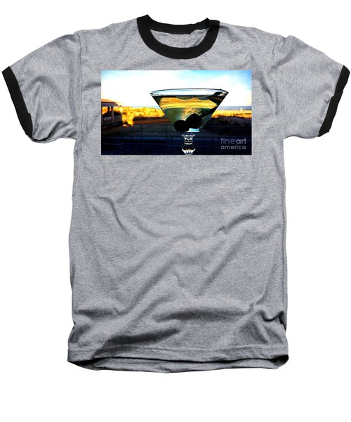 Dirty Martini On Beach Baseball T-Shirt