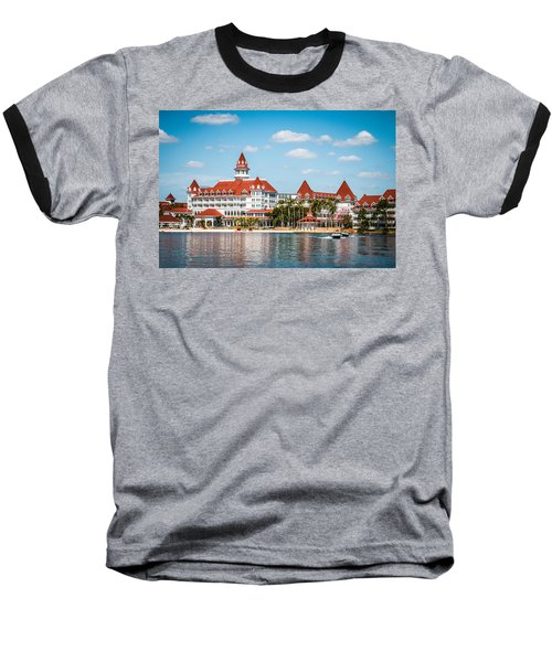 Disney's Grand Floridian Resort And Spa Baseball T-Shirt by Sara Frank