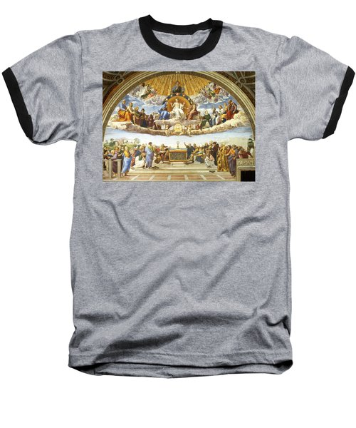 Disputation Of Holy Sacrament. Baseball T-Shirt