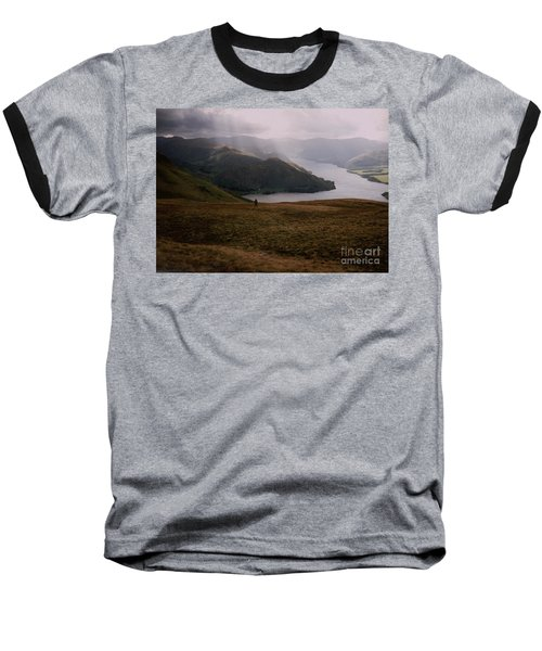 Baseball T-Shirt featuring the photograph Distant Hills Cumbria by John Williams