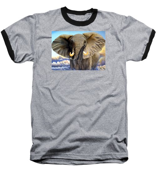 Da108 Distant Thunder By Daniel Adams Baseball T-Shirt