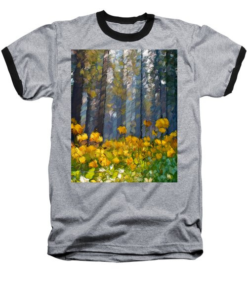 Distorted Dreams By Day Baseball T-Shirt