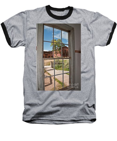 Through The Wavy Glass Baseball T-Shirt