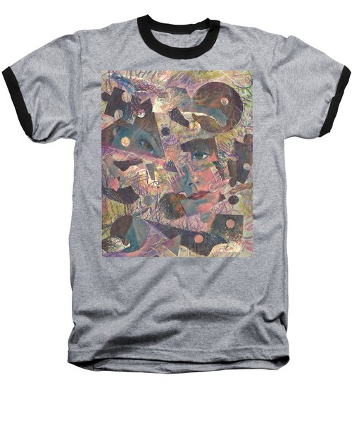 Distraction A Self Portrait Baseball T-Shirt