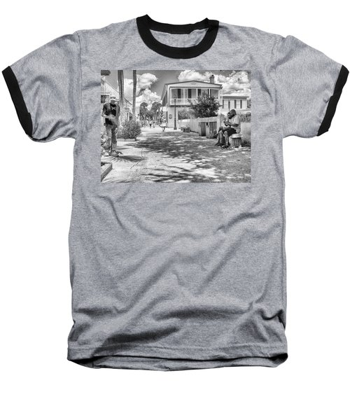 Baseball T-Shirt featuring the photograph Distraction by Howard Salmon
