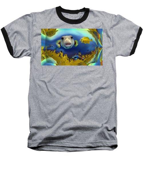 Diver's Perspective Baseball T-Shirt