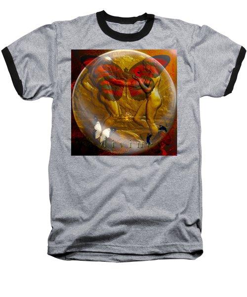 Divine Baseball T-Shirt by Joseph Mosley