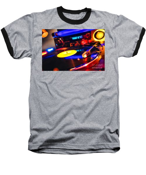 Dj 's Delight Baseball T-Shirt